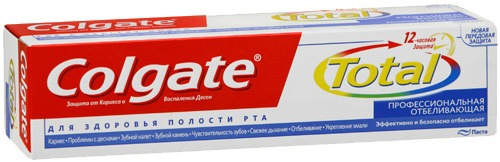 Иск о прекращении правовой охраны бренда Colgate Total