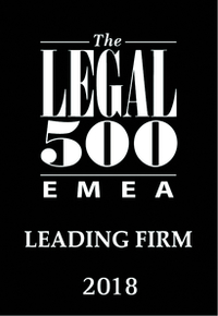 PATENTUS вошел в рейтинг The Legal 500
