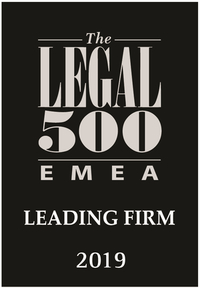 PATENTUS is rated in Legal 500