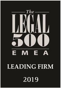 PATENTUS отмечен в рейтинге Legal 500