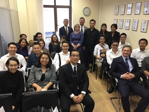 PATENTUS встретил делегацию предпринимателей из Таиланда